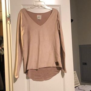 Tops - Tribe Kelley Suede Shirt